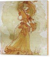 Chamomile Wood Print by Brian Kesinger