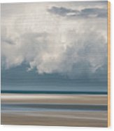 Chapin Beach 3 Wood Print
