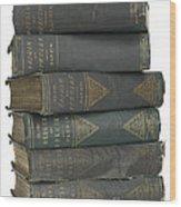 Charles Darwins The Origin Of Species Wood Print