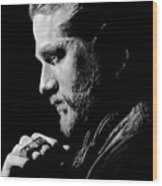 Charlie Hunnam Wood Print