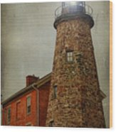 Charlotte Genesee Lighthouse Wood Print