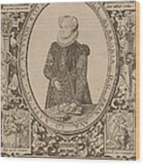 Charlotte Of Bourbon Wood Print