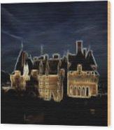 Chateau Wood Print