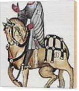Chaucer: Canterbury Tales Wood Print