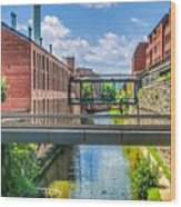 Chesapeake And Ohio Canal Wood Print