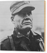 Chesty Puller Wood Print