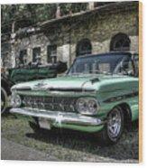 Chevrolet El Camino Wood Print