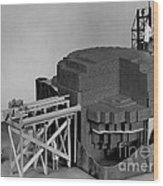 Chicago Pile-1, Scale Model Wood Print