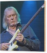 Chris Squire - Yes Wood Print