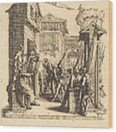 Christ Before Caiaphas Wood Print