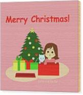 Christmas #1 Wood Print