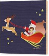 Christmas #3 Wood Print