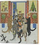 Christmas Carols Wood Print