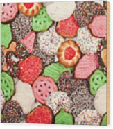 Christmas Cookies Wood Print