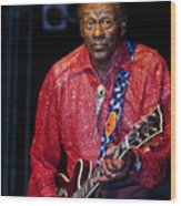 Chuck Berry Wood Print