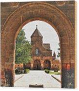 Church  Wood Print