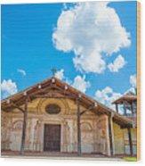 Church In San Javier, Bolivia Wood Print