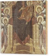 Cimabue: Madonna Wood Print