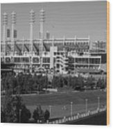 Cincinnati Reds Stadium Wood Print