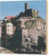 Cinque Terre 3 Photograph Wood Print
