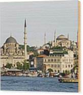 City Of Istanbul Wood Print