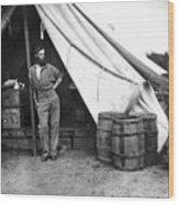Civil War Soldier Wood Print