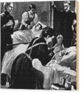 Clara Barton (1821-1912) Wood Print