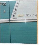 Classic Car No. 16 Wood Print