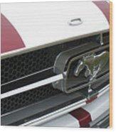 Classic Car No. 17 Wood Print