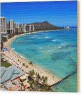 Classic Waikiki Wood Print