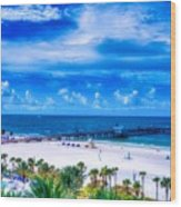 Clearwater Beach, Florida Wood Print