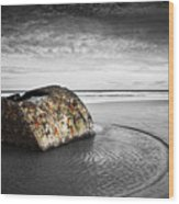 Coastal Scene Wood Print