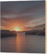 Coliemore Harbour Wood Print
