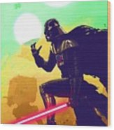 Collection Star Wars Poster Wood Print