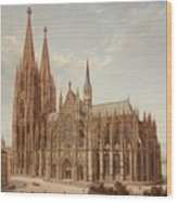 Cologne Cathedral Wood Print