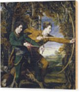 Colonel Acland And Lord Sydney - The Archers Wood Print