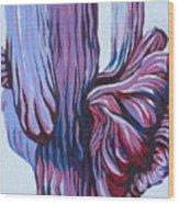 Color Me Purple Wood Print