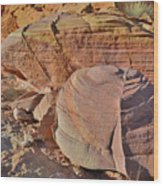 Colorful Valley Of Fire State Park Wood Print
