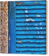 Colors Of Formentera Wood Print