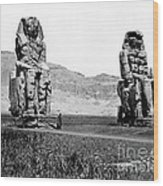 Colossi Of Memnon, Valley Of The Kings Wood Print