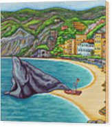 Colours Of Monterosso Wood Print