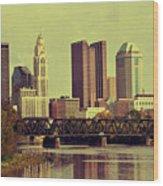 Columbus, Ohio Wood Print