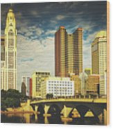 Columbus Ohio Wood Print