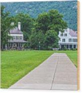 Commandants House At West Point Wood Print