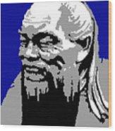 Confucius - Portrait By Asbjorn Lonvig Wood Print