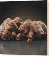 Copper Nugget Collection Wood Print
