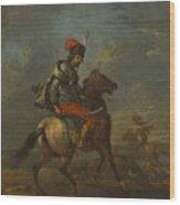 Cossack On Horseback Wood Print