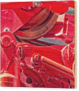 Crane Detail Wood Print