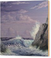 Crashing Wave Wood Print