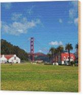 Crissy Field - San Francisco Wood Print